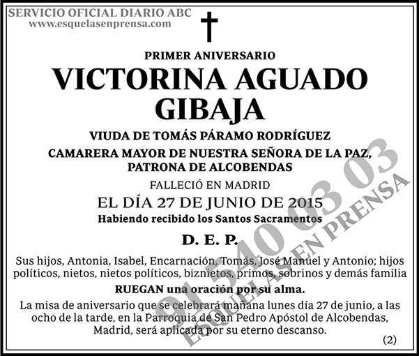 Victorina Aguado Gibaja